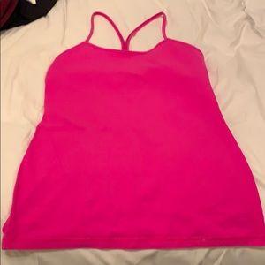 LuLu Lemon Tank Pink
